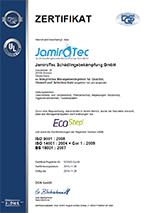 Zertifikat DQS EcoStep